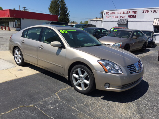 Buy Here Pay Here Greensboro Nc >> 2005 Nissan Maxima 3 5 Se 4dr Sedan In Greensboro Nc Nc