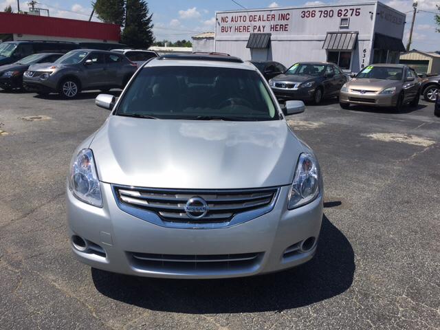 Buy Here Pay Here Greensboro Nc >> 2012 Nissan Altima 2 5 Sl 4dr Sedan In Greensboro Nc Nc