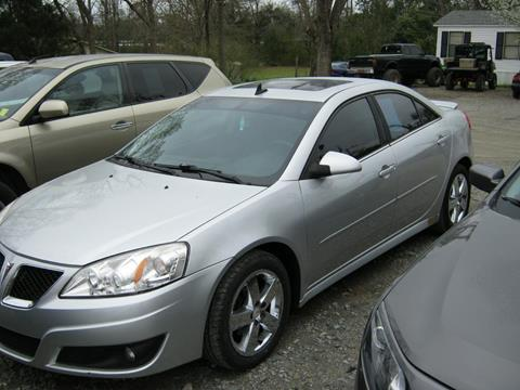 2010 Pontiac G6 for sale at Johnson Used Cars Inc. in Dublin GA