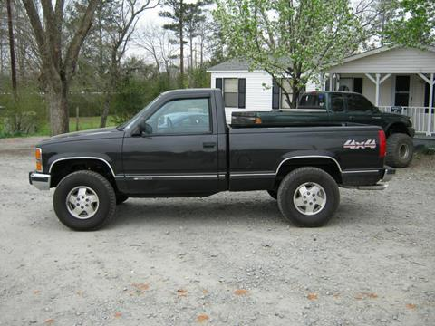 1989 Chevrolet C/K 1500 Series for sale at Johnson Used Cars Inc. in Dublin GA