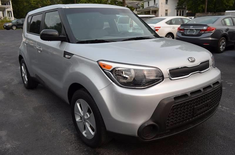 2014 Kia Soul Base 4dr Wagon 6a