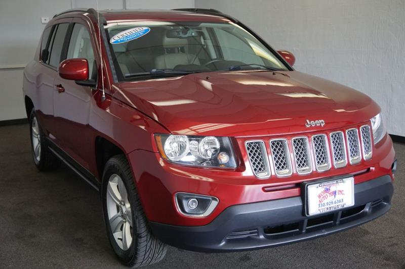 2015 Jeep Compass High Altitude Edition 4x4 4dr Suv
