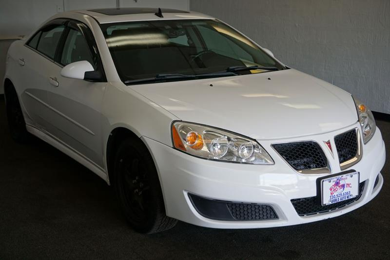 2010 Pontiac G6 Base 4dr Sedan W/1se