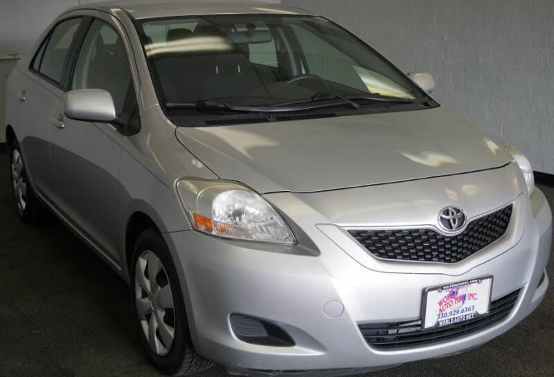2012 Toyota Yaris Fleet 4dr Sedan 4a