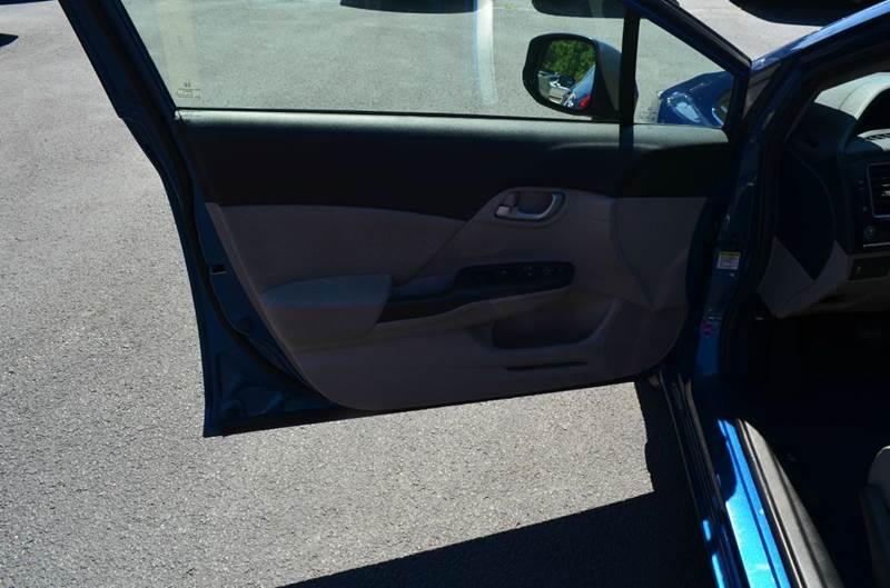 2013 Honda Civic LX 4dr Sedan 5A - Cuyahoga Falls OH