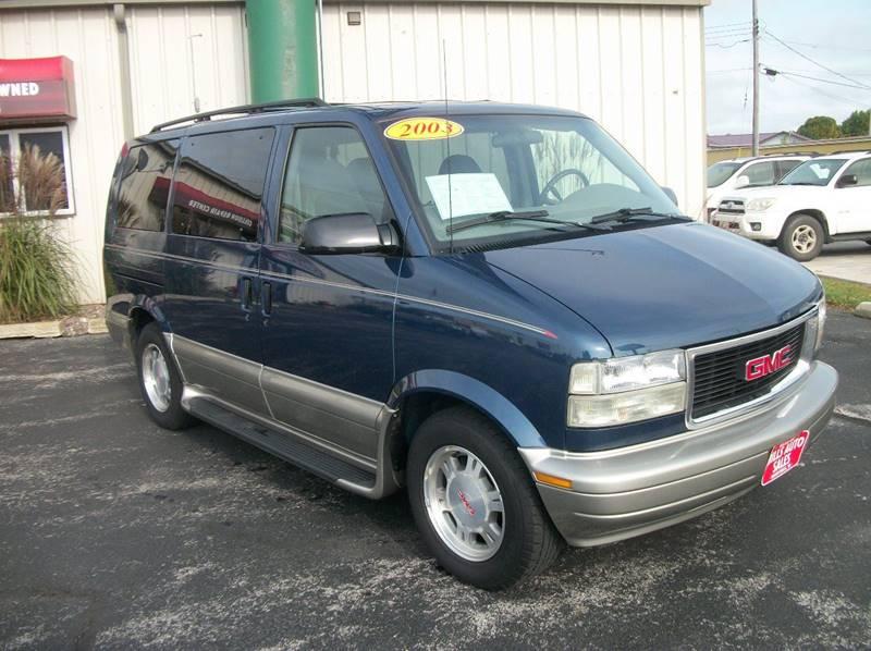 2003 Gmc Safari AWD SLE 3dr Mini Van In Manitowoc WI