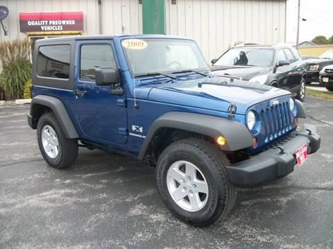 2009 Jeep Wrangler for sale in Manitowoc, WI