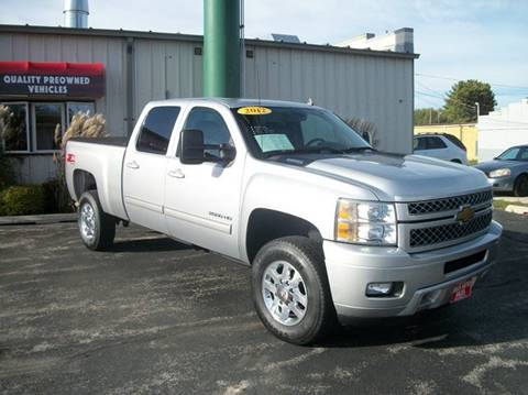 2012 Chevrolet Silverado 2500HD for sale in Manitowoc, WI