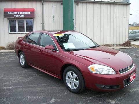2010 Chevrolet Impala for sale in Manitowoc, WI
