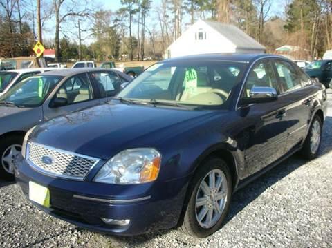 2005 Ford Five Hundred for sale at Car Trek in Dagsboro DE