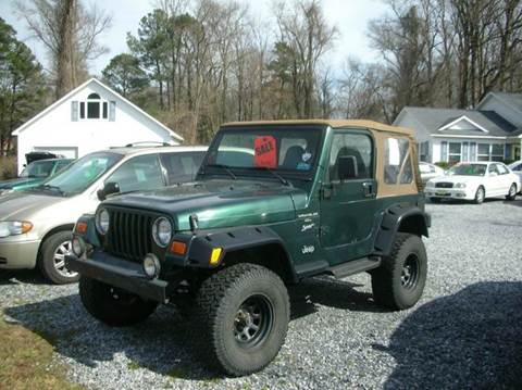 2000 Jeep Wrangler for sale at Car Trek in Dagsboro DE