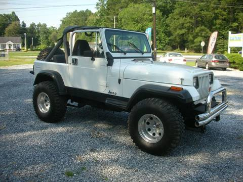 1990 Jeep Wrangler for sale at Car Trek in Dagsboro DE