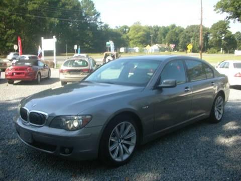 2007 BMW 7 Series for sale in Dagsboro, DE