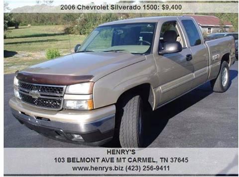 2006 Chevrolet Silverado 1500 for sale in Mt Carmel, TN
