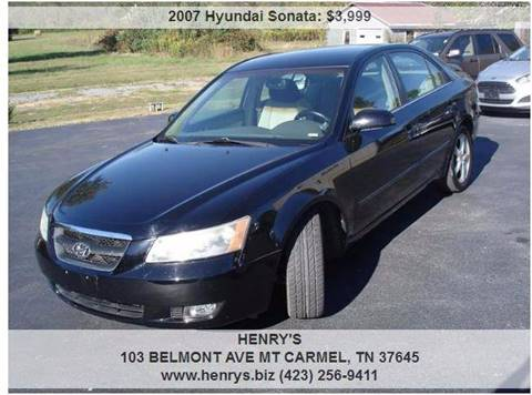 2007 Hyundai Sonata for sale in Mt Carmel, TN