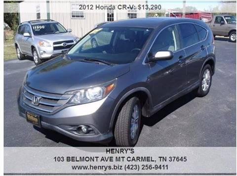 2012 Honda CR-V for sale in Mt Carmel, TN