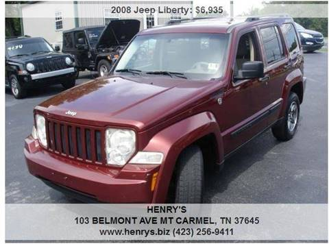 2008 Jeep Liberty for sale in Mt Carmel, TN