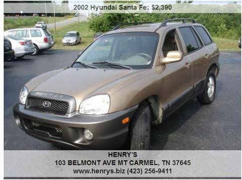 Hyundai Santa Fe For Sale In Mt Carmel Tn Henry S