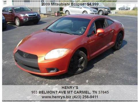 2009 Mitsubishi Eclipse for sale in Mt Carmel, TN