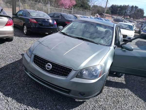 2006 Nissan Altima 2.5 S 4dr Sedan w/Automatic - Charlotte NC