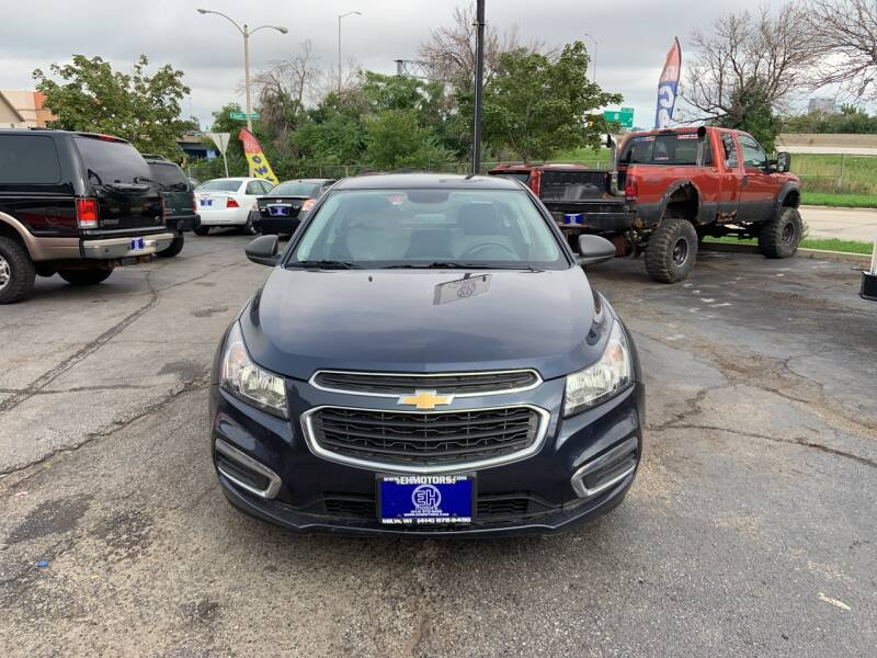 2016 Chevrolet Cruze Limited for sale at E H Motors LLC in Milwaukee WI
