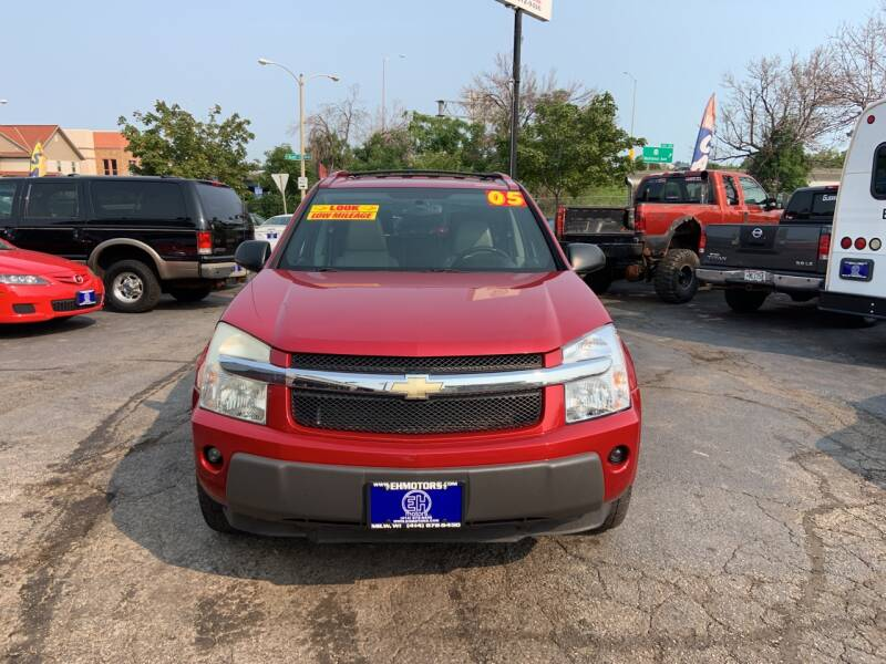 2005 Chevrolet Equinox for sale at E H Motors LLC in Milwaukee WI