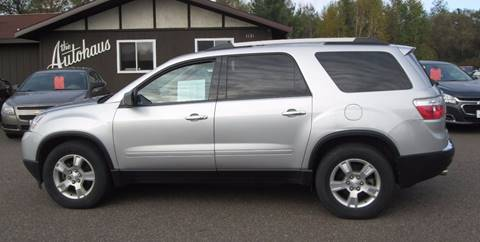 2011 GMC Acadia for sale in Tomahawk WI