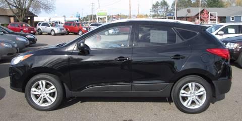 2010 Hyundai Tucson for sale in Tomahawk, WI