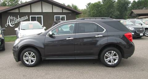 2014 Chevrolet Equinox for sale at AUTOHAUS in Tomahawk WI