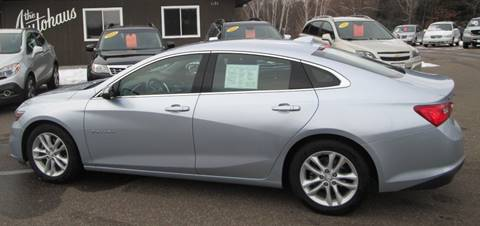 2017 Chevrolet Malibu for sale in Tomahawk, WI