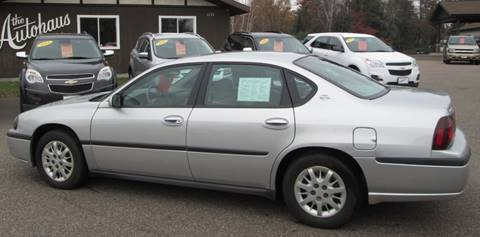 2003 Chevrolet Impala for sale in Tomahawk, WI