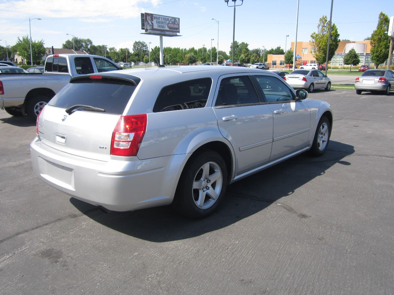dodge trend motor front base cars and wagon angular reviews rating magnum