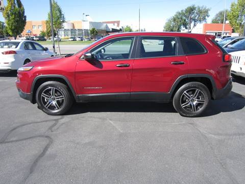 2014 Jeep Cherokee for sale at Smart Buy Auto Sales in Ogden UT