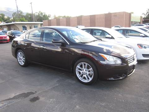 2013 Nissan Maxima for sale at Smart Buy Auto Sales in Ogden UT