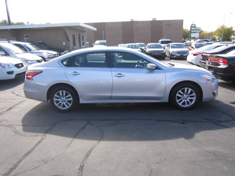 2015 Nissan Altima for sale at Smart Buy Auto Sales in Ogden UT