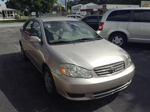 2003 Toyota Corolla for sale in New Port Richey, FL