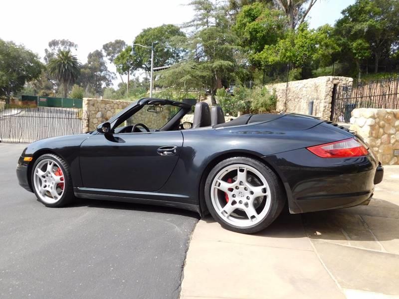 2008 Porsche 911 AWD Carrera 4S 2dr Convertible - Santa Barbara CA