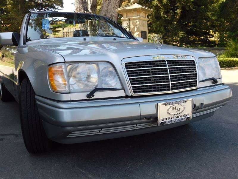 1995 Mercedes-Benz E-Class E 320 2dr Convertible - Santa Barbara CA