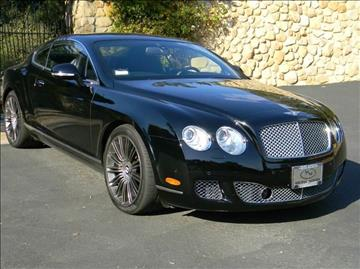 2010 Bentley Continental GT Speed for sale in Santa Barbara, CA