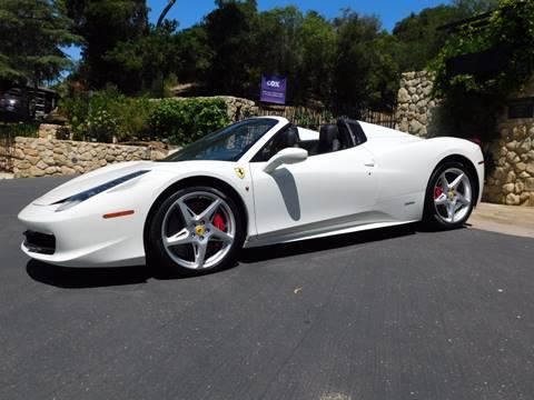 2013 Ferrari 458 Spider for sale in Santa Barbara, CA