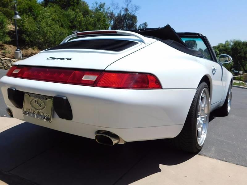 1998 Porsche 911 Carrera 2dr Convertible - Santa Barbara CA