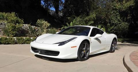 2015 Ferrari 458 Italia for sale at Milpas Motors in Santa Barbara CA