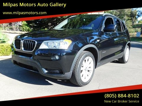 2013 BMW X3 for sale at Milpas Motors in Santa Barbara CA