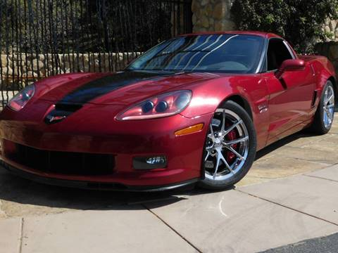 2008 Chevrolet Corvette for sale at Milpas Motors in Santa Barbara CA