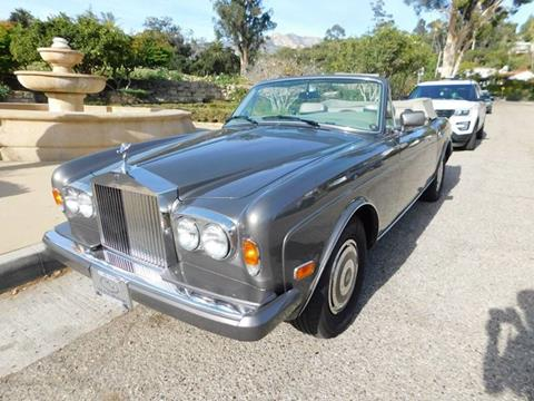1987 Rolls-Royce Corniche for sale at Milpas Motors in Santa Barbara CA