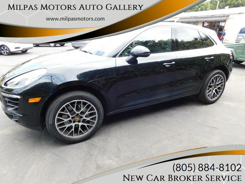 2015 Porsche Macan for sale at Milpas Motors in Santa Barbara CA