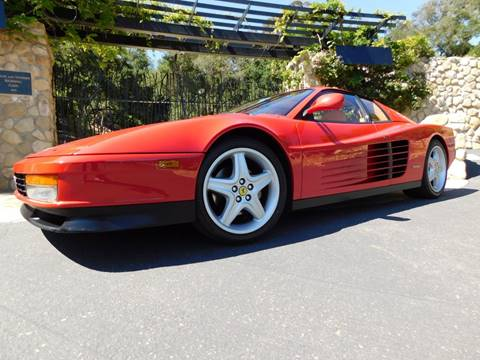 1989 Ferrari Testarossa for sale at Milpas Motors in Santa Barbara CA