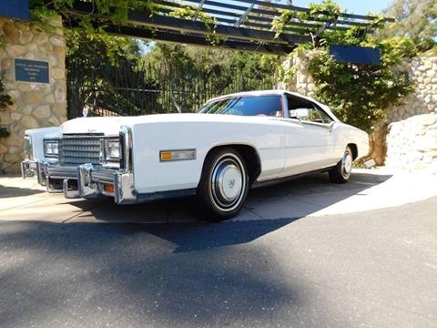 1976 Cadillac Eldorado for sale at Milpas Motors in Santa Barbara CA