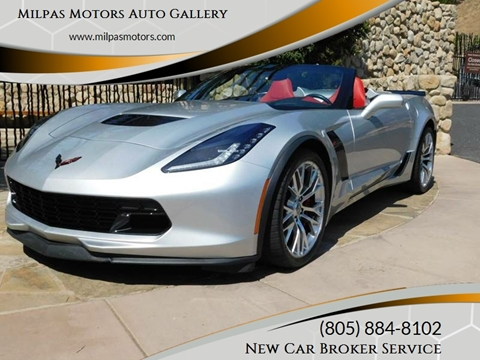 2015 Chevrolet Corvette for sale at Milpas Motors in Santa Barbara CA