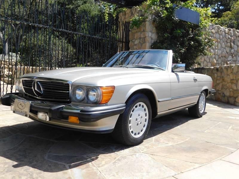 1987 Mercedes Benz 560 Class 560 SL 2dr Convertible   Santa Barbara CA
